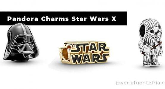 Colección de charms Star Wars X de Pandora