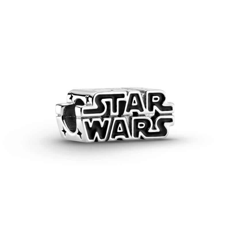 Charm en plata de ley Logo Star Wars™ en 3D Pandora