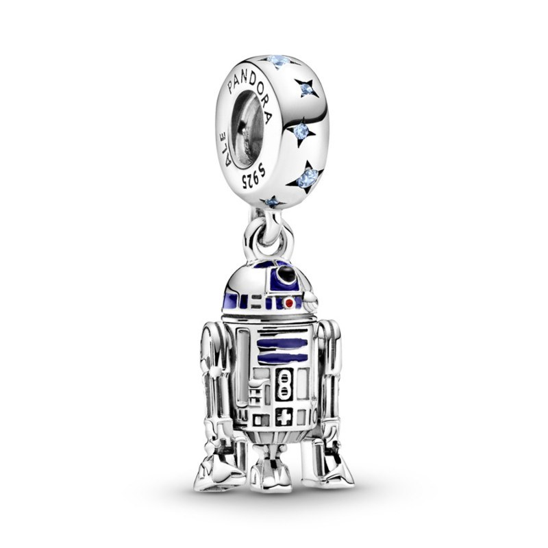 Charm colgante en plata de ley R2-D2™ Star Wars™ Pandora