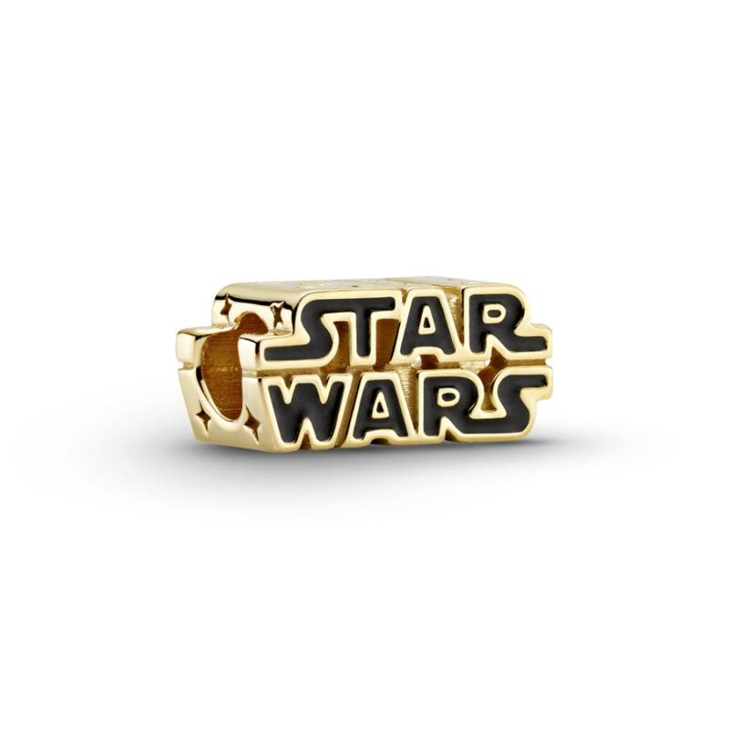 Charm en Pandora Shine Logo Brillante Star Wars™ en 3D