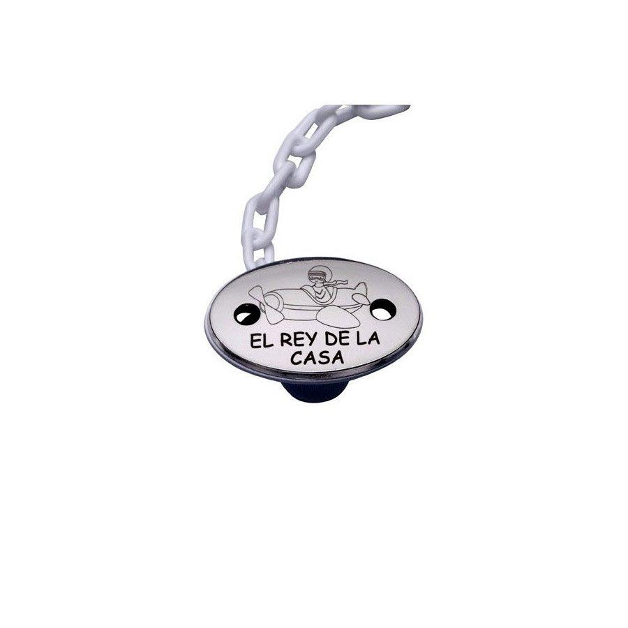 Chupetero plata rey de la casa Vinard 900140