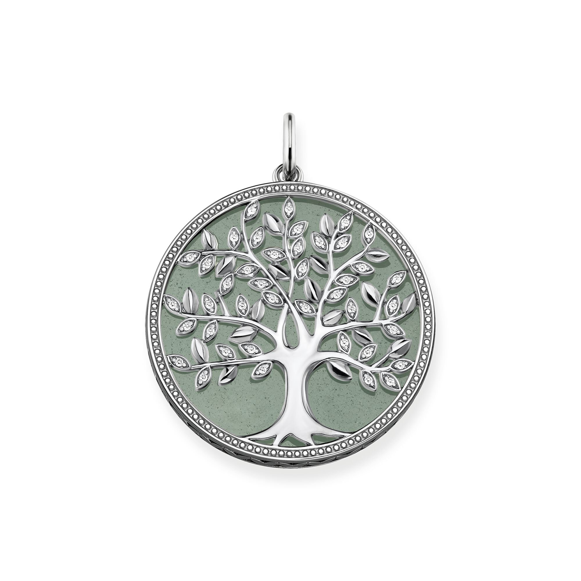 Colgante Tree of Love verde Thomas Sabo
