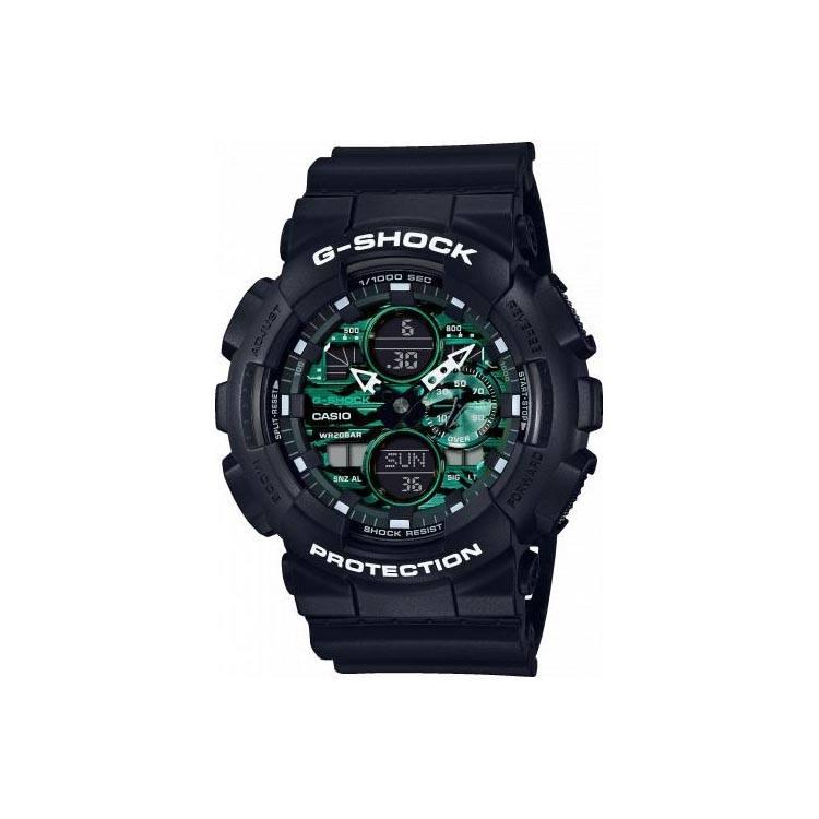 Reloj Casio G-shock Midnight Green Series GA-140MG-1AER