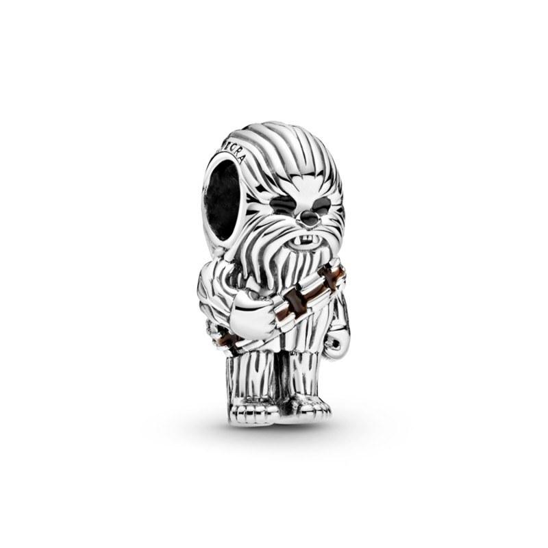 Charm Chewbacca™ Star Wars™ Pandora en plata de ley