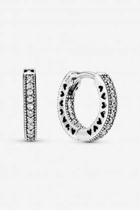 Comprar Pendientes Pandora Aros circonitas de plata 296317CZ