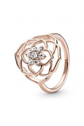 comprar online Anillo Pétalos de Rosa Pandora Rose Acabado a mano