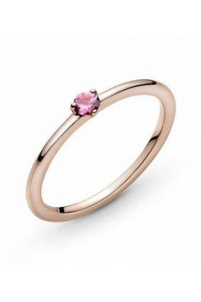 Compra online Anillo en Pandora Rose Solitario Rosa 189259C03