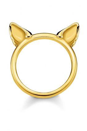 Comprar online Anillo orejas de gato oro Thomas Sabo TR2260 413