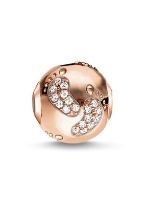 Comprar Arbol huella de bebé rose Thomas Sabo Karma beads K0156-416-14