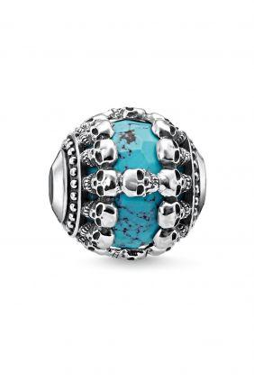 Bead Calaveras turquesa Thomas Sabo Karma beads