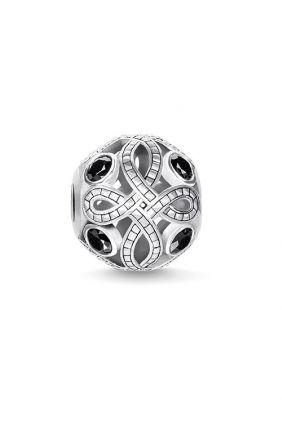 Bead Love Knot negro Thomas Sabo Karma beads K0264-643-11