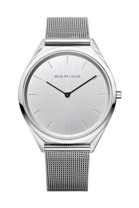 Reloj Bering Ultra delgado Hombre Plateado 17039-000