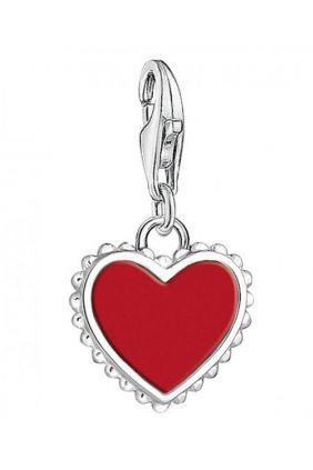 Comprar Charm - Abalorio corazón rojo Thomas Sabo