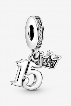 Comprar online Charm Colgante 15 Cumpleaños Pandora 799540C01