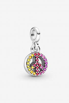 Comprar online Charm Colgante Pandora Me Mi Simbolo de la Paz 799424C01
