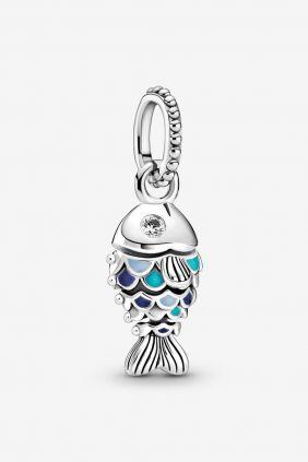 Comprar online Pez Escamas Azules Charm Colgante Pandora 799428C01
