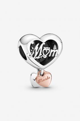 Regalo chulo dia de la madre: Charm Corazón Gracias Mamá Pandora 789372C00