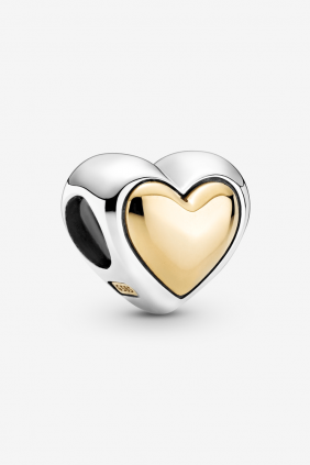 Charm Corazón de Centro Dorado Pandora 799415C00