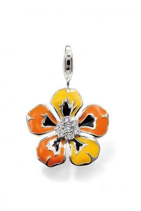 Comprar online Charm Flor de colores Thomas Sabo