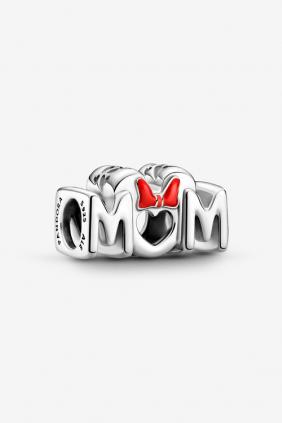 Regalo día de la madre Charm Mamá y Lazo de Minnie Mouse Disney Pandora 799363C01
