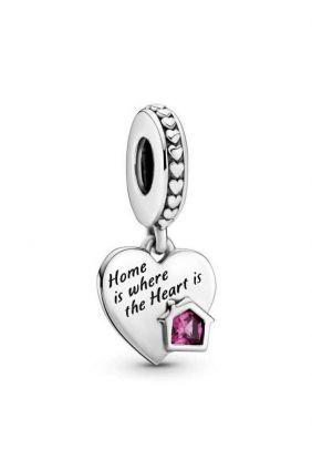 Charm colgante en plata de ley Hogar y Corazón Pandora 799324C01