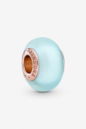 Comprar online Charm de Cristal de Murano Azul Mate Pandora 789420C00