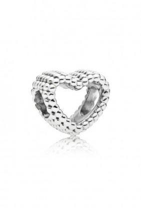 Comprar Charm Corazón Moldeado Pandora en plata de ley 797516
