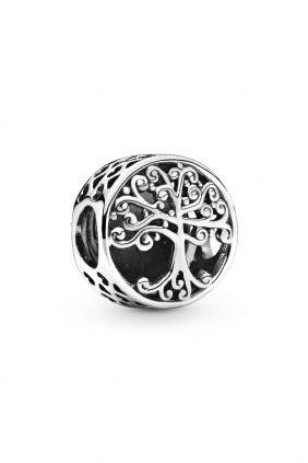 Abalorio / Charm Raíces Familiares Pandora en plata de ley