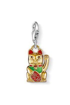 Comprar Charm gato de la fortuna Thomas Sabo online