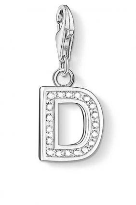 Charm letra D con piedras Thomas Sabo charm club