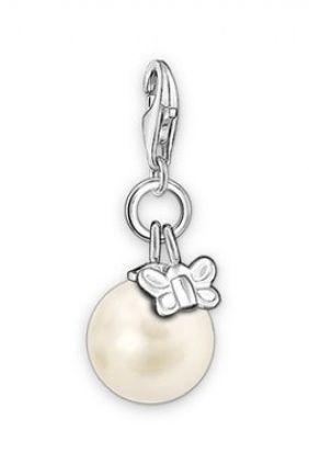 Comprar online Charm perla con mariposa Thomas Sabo 0558