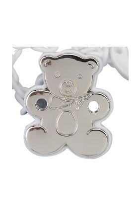 Comprar online Chupetero plata Osito Plano Vinard 900122