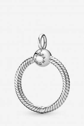 Pandora Colgante O pequeño en plata de ley  (diametro 2cm)