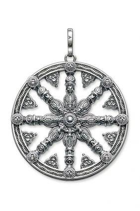 Comprar online Thomas Sabo Colgante Karma Wheel Ennegrecida PE667