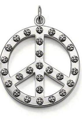 Colgante Thomas Sabo Símbolo Paz Grande