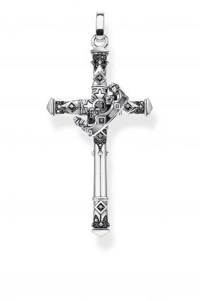 Colgante Thomas Sabo cruz y corona
