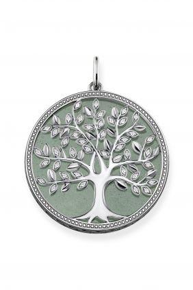 Colgante Tree of Love verde Thomas Sabo