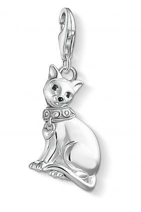 Thomas Sabo Colgante charm gato siames