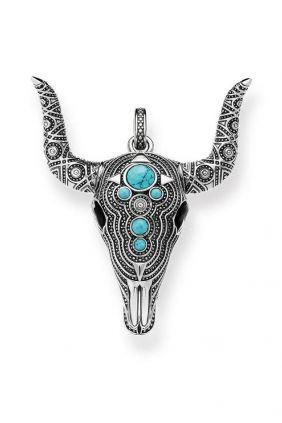 comprar online Colgante toro turquesas Thomas Sabo en Plata PE753 878 unisex