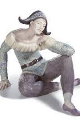 Figurita Lladró arlequín grande 8249