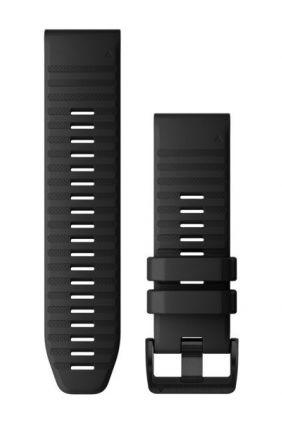 Correa de reloj QuickFit™ 26 Garmin Silicona negra