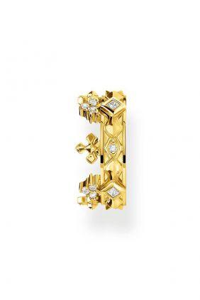 Comprar online Ear cuff individual corona dorada de Thomas Sabo EC0016-414