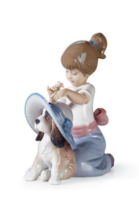Figura niña perro te pongo guapo de Lladró 01006862