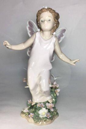 Figura hada con mariposas de Lladró 6875