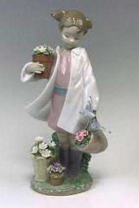 Figura niña maceta de Lladró 8240 online