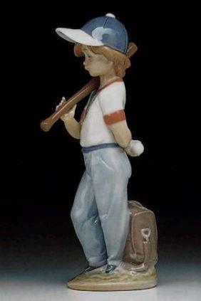 Comprar figura niño beisbol de Lladró 7610 online