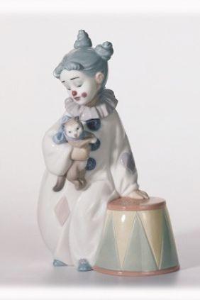 Comprar online Figura payaso con gato Lladró 8093