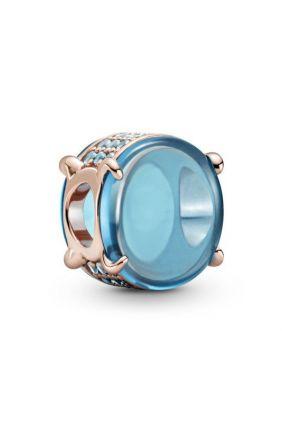 Comprar online Pandora Charm Cabujón Ovalado Azul 789309C01