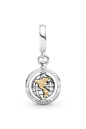 Comprar online Pandora Charm Colgante en plata de ley Mundo Giratorio 799303C011