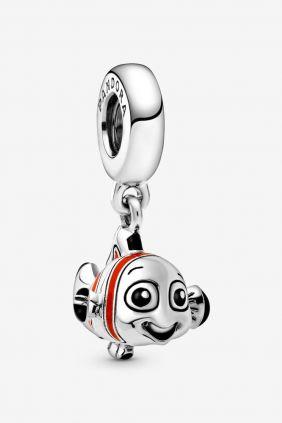 Pandora Charm colgante en plata de ley Buscando a Nemo